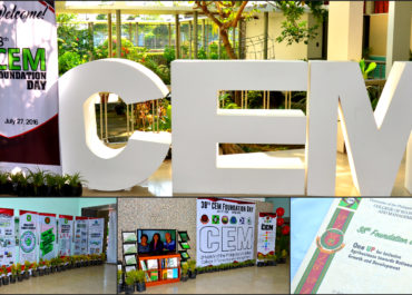 CEM celebrates 38th Foundation Anniversary