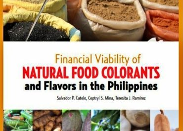 """Financial Viability of Natural Food Colorants and Flavors in the Philippines""  wins 2020 NAST Outstanding Book Award"