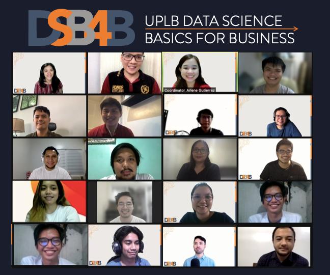 UPLB DSB4B Cohort One Students Start their Data Science Journey